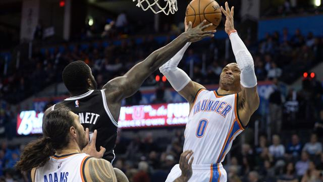 Thunder-Star Westbrook holt 100. Triple-Double seiner Karriere