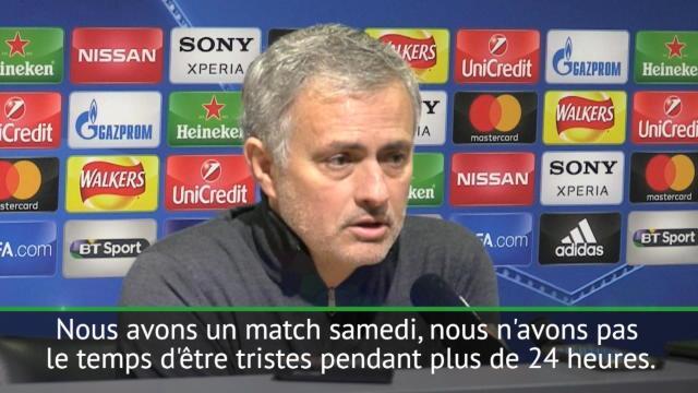 """8es - Mourinho : """"Ce n'est pas la fin du monde"""""""