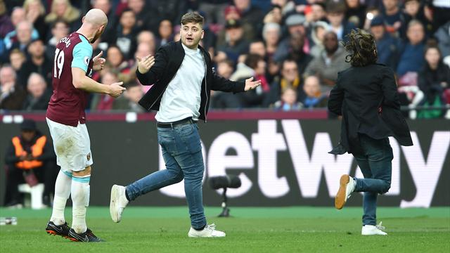 West Ham given deadline to explain pitch invasion