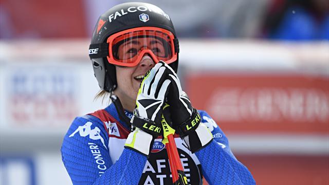 Goggia remporte le globe de descente, Vonn la victoire — Ski