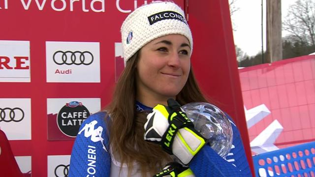 'I've been dreaming of this!' - Goggia reflects on Crystal Globe success