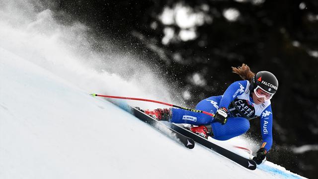 82. Sieg für Vonn, aber Olympiasiegerin Goggia gewinnt Abfahrtsweltcup