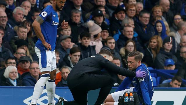 Everton's Iceland midfielder Sigurdsson out for up to eight weeks