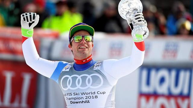 Kriechmayr y Mayer ganan el último descenso; Feuz, el globo de cristal
