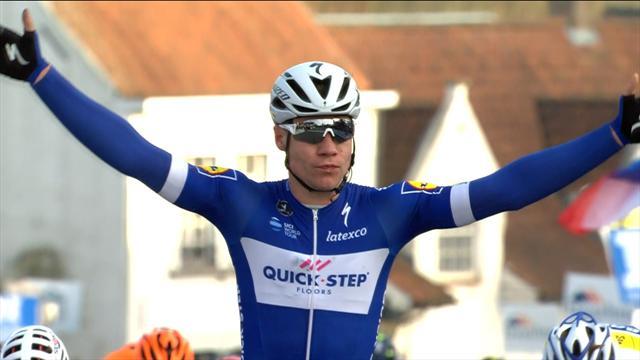 A sorpresa è Fabio Jakobsen (Quickstep) il vincitore della bellissima Nokere Koerse