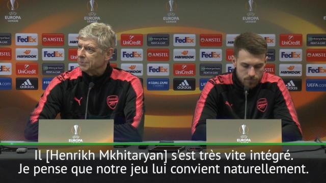 "Arsenal - Wenger: ""Mkhitaryan s'est très vite intégré"""