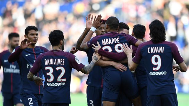 PSG'ye galibiyeti Mbappe getirdi