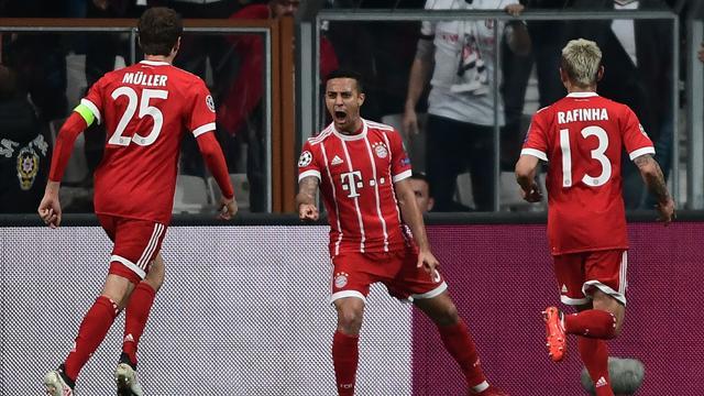 «Бавария» прошла в четвертьфинал, грохнув «Бешикташ» с общим счетом 8:1