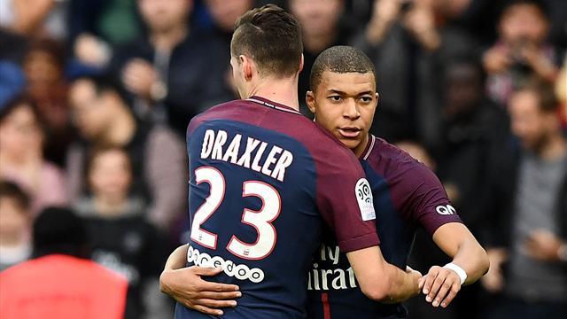 Mit Draxler und Trapp: Mbappé schießt PSG zum Sieg