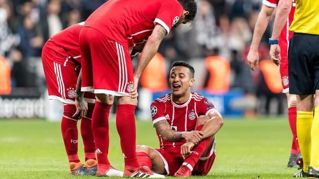 """""""Keine Vorsichtsmaßnahme"""": Bayern bangt um verletzten Thiago"""