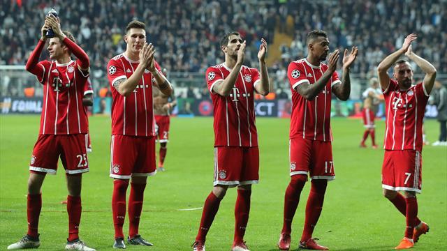 Le Bayern et le Barça complètent le plateau des quarts