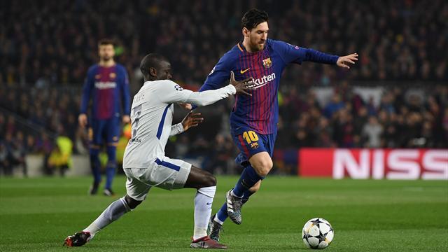 «Барселона» вынесла «Челси» из Лиги чемпионов