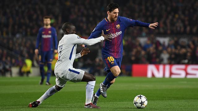 Après un une-deux avec Suarez, Messi a douché Chelsea dès la 3e minute