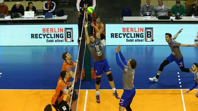 Volleyball: Friedrichshafen bezwingt Berlin in der Champions League