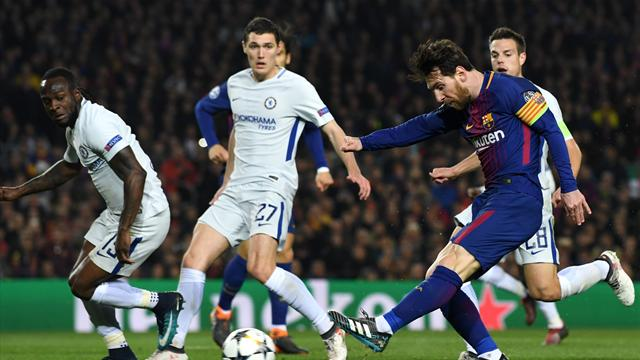 Le pagelle di Barcellona-Chelsea 3-0: Messi stellare, Umtiti roccioso, male Giroud e Azpilicueta