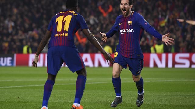 Messi macht die 100 voll und führt Barcelona ins Viertelfinale