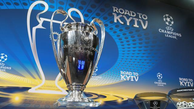 Auslosung der Champions League am Freitagmittag