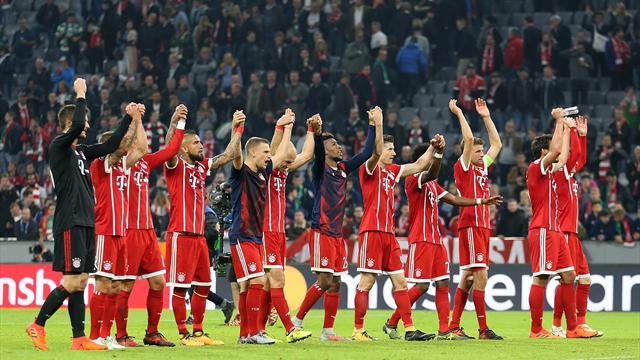 Besiktas v Bayern Munich – story of the match