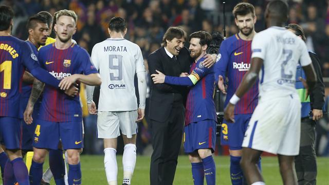 """Conte: """"Messi è stato determinante, ma la buona sorte ha voltato le spalle al Chelsea"""""""