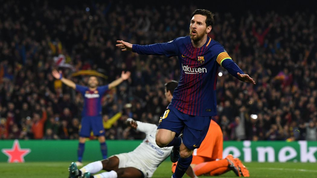 Lionel Messi schießt FC Barcelona gegen Chelsea ins Viertelfinale -  Champions League 2017-2018 - Fußball - Eurosport Deutschland 63a3232e4f9