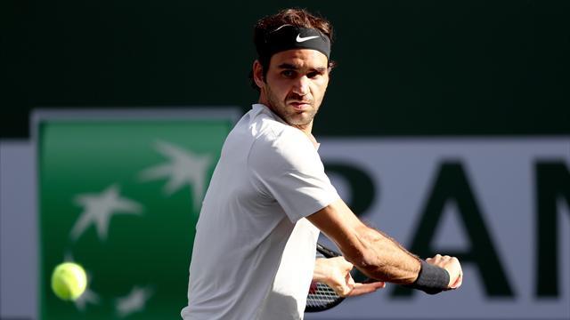 Federer set kaybetmeden ilerleyişini sürdürüyor