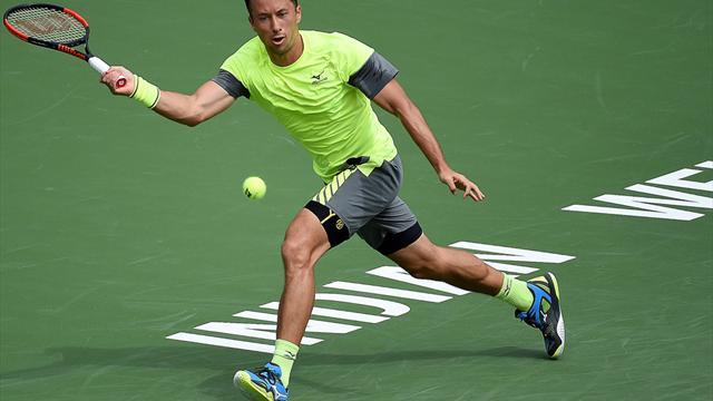 Indian Wells: Kohlschreiber nach Sieg über Herbert im Viertelfinale