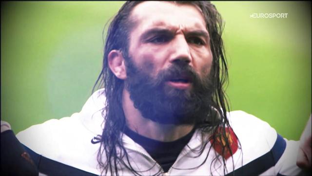 """""""L'orco"""" Sebastien Chabal: rugby, spettacolo e quel placcaggio a Masoe..."""