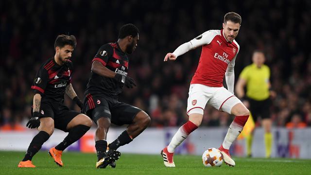 Arsenal-Milan in Diretta tv e Live-Streaming