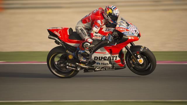 Dovizioso gana la primera carrera del mundial de MotoGP