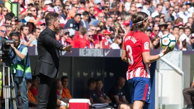 La rumeur Filipe Luis au PSG ? Simeone donne son avis