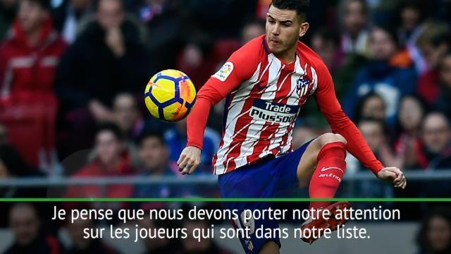 Lucas Hernandez s'installe à gauche — Atlético