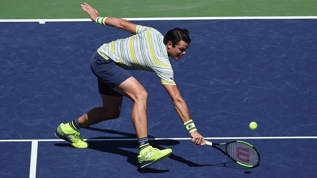 Tennis: Del Potro ramène Federer sur terre