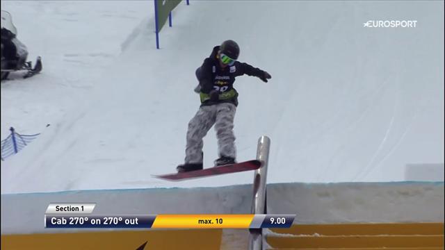 Bravo Emiliano Lauzi: quarto posto nello slopestyle di Seiser Alm