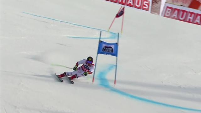 Sans sa grosse faute, Hirscher aurait mis ses rivaux à deux secondes !