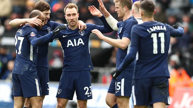 Spurs till semifinal i FA-cupen - se målen här