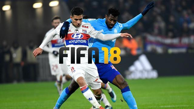 L'OM va enfoncer l'OL (c'est FIFA 18 qui le dit)