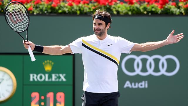 Federer a vacillé avant de se réveiller