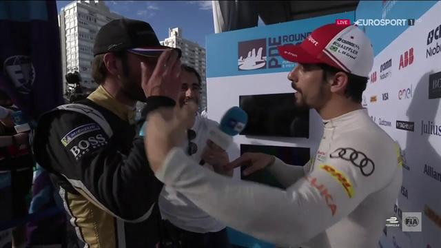 Fórmula E, Punta del Este: La tensa conversación entre Vergne y Di Grassi tras la carrera