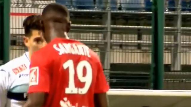 Сенегалец из Лиги 2 возомнил себя Зиданом и боднул Зинедина в лицо