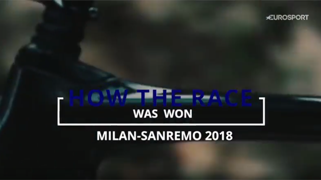 How the race was won: Milano-Sanremo 2018