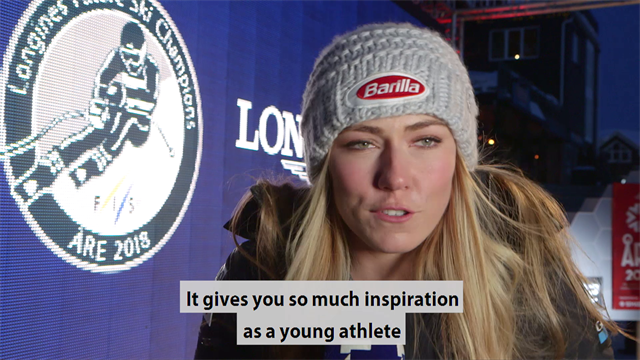 Longines Snow Stories: How Shiffrin and Svindal are helping inspire the Ski Champions of the future
