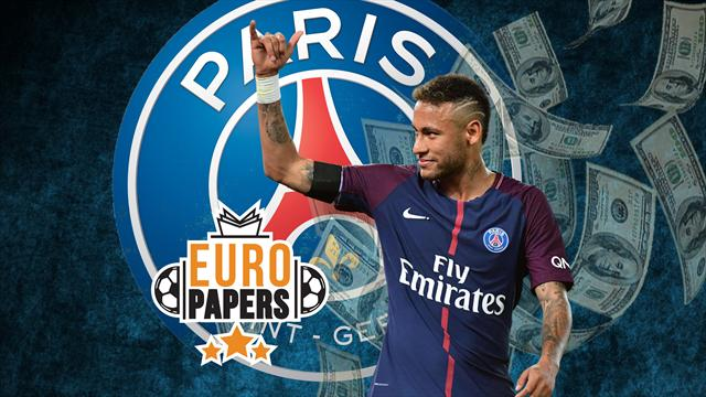 Euro Papers: Neymar uses Real Madrid talk for ridiculous PSG pay rise