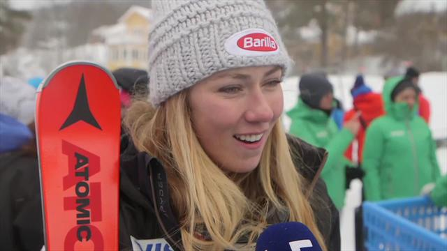 Shiffrin tells Eurosport: I can look back and really smile about this season, I feel like deserve it