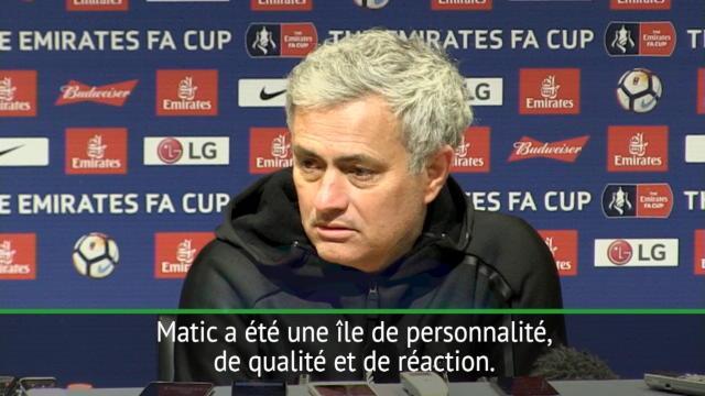 FA Cup - Matic, la seule vraie satisfaction pour Mourinho