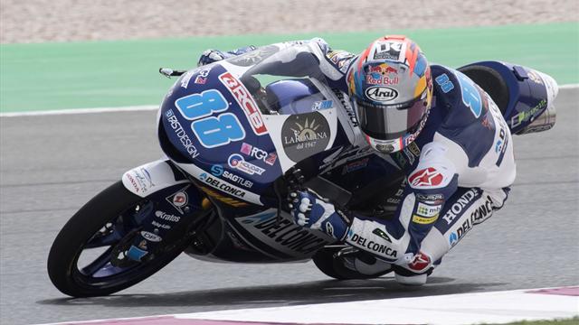 Moto3 Losail, la volata a Martin; bravo Dalla Porta: è terzo
