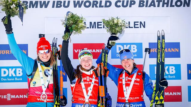 Dominant Domracheva wins tight 10km pursuit in Oslo