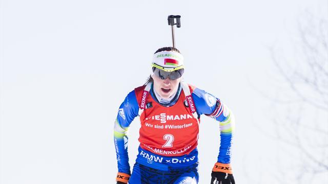 Домрачева получила приз IBU за спортивное поведение