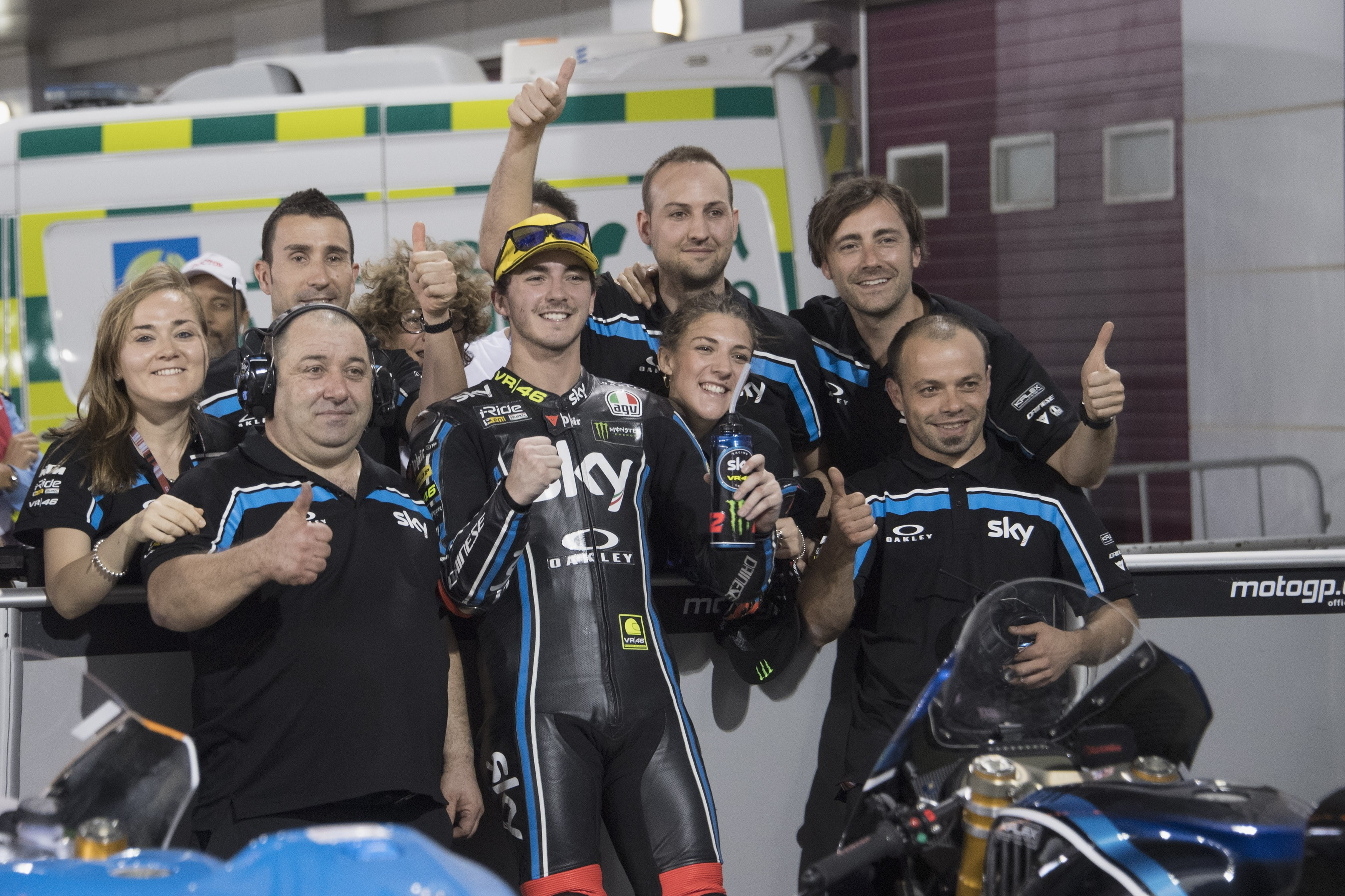 Francesco Bagnaia  au Grand Prix du Qatar 2018