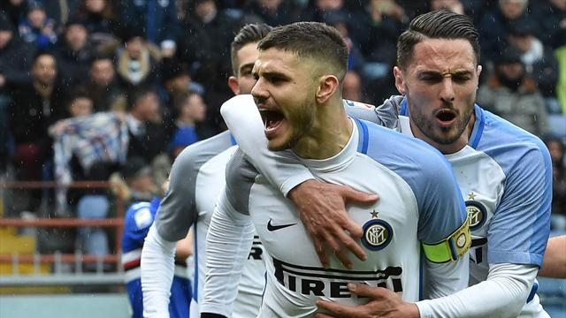 Four-goal Icardi demolishes former side