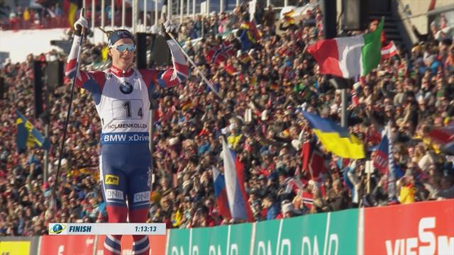 Awesome Norway dominate Biathlon relay in Oslo